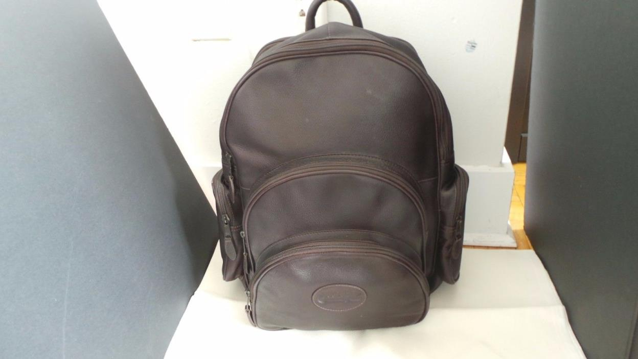 genuine leather backpack Bugatti ??