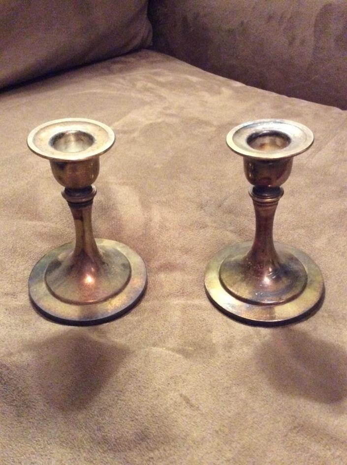 Oneida Candlestick holder set 2