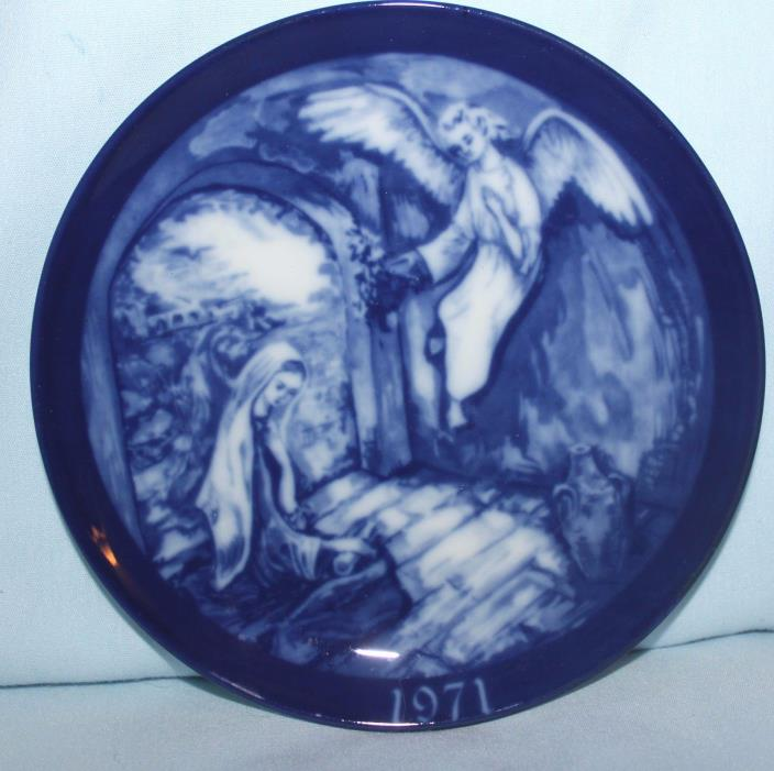 porcelain plate collector Pax in Terra First Biblical series Grenada 1971