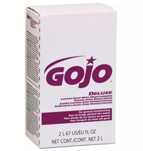 CASE OF FOUR 2000ml Gojo NXT Deluxe Lotion Soap With Moisturizers 2217-04