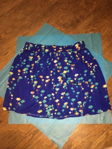 Nwt Socialite Floral Skirt Sz Medium