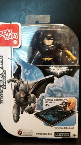 GRAPNEL ATTACK BATMAN APPTIVITY FOR IPAD NEW IN PACKAGE- COOL!