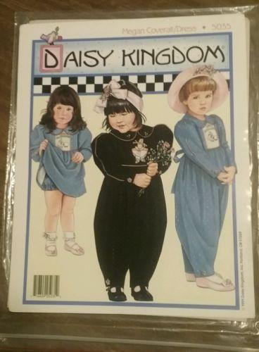 Daisy Kingdom Girls Coverall/Dress Pattern Megan 5035.