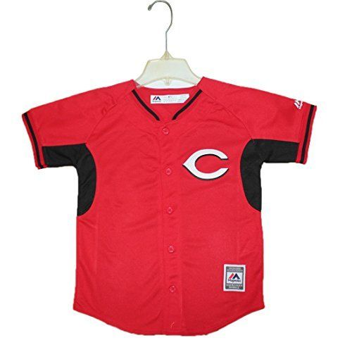 NEW Youth- CINCINNATI REDS BRUCE #32 Dri-Fit Baseball Jersey Red - FREE SHIPPING