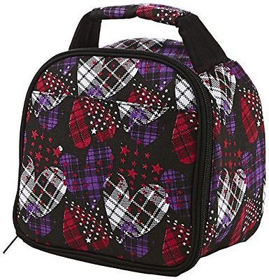 *NEW+FREE SHIPPING* Fit and Fresh Gabby Insulated Lunch Bag, Hearts on Fire