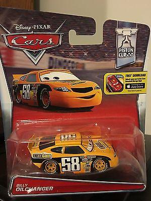 Disney Cars Piston Cup Billy Oilchanger Octane race car