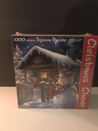 Christmas Cheer 1000 Piece Jigsaw Puzzle by Dina Gelsinger 20x27