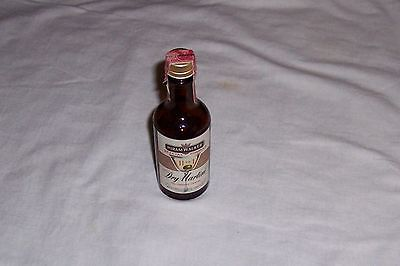 Hiram Walker Special Formula 11 to 1 Dry Martini Glass Mini Bottle