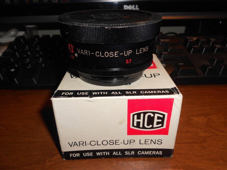 HCE  Vari-Close-Up Lens SERIES 7 for 54mm MADE IN JAPAN IN ORIGINAL BOX