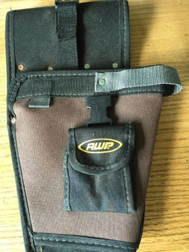 AWP Canvas Drill Holster with pouch for drill bits