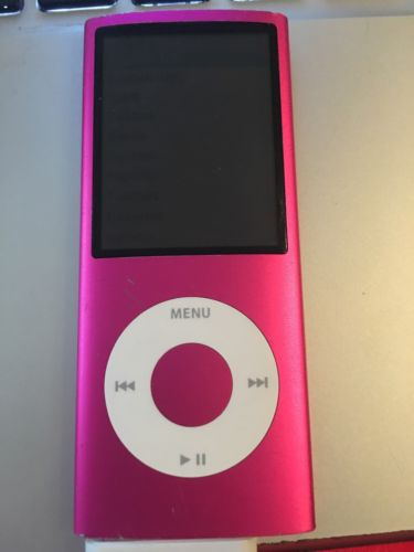Apple iPod nano 4th Generation Pink (8GB) *Battery/Backlight* 7017