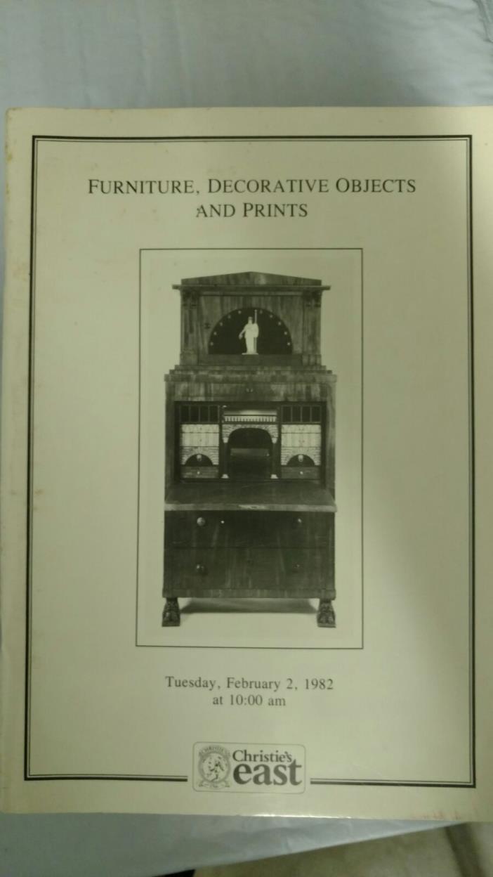Furniture, Decorative Objects & Prints - February 2, 1982   Sale# 249