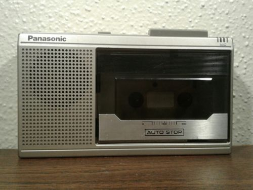 Vintage PANASONIC RQ-341 Portable Cassette Tape Recorder / Player Japan - TESTED