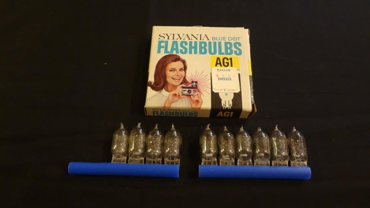 Sylvania Blue Dot Flashbulbs AG1