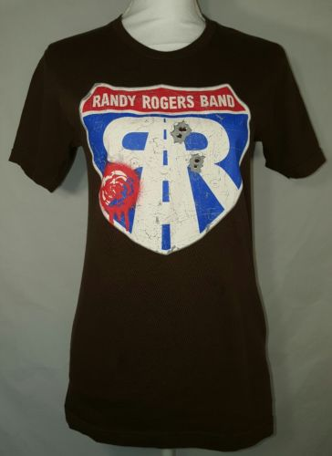 Randy Rogers Band Concert T-Shirt Women's Size Small