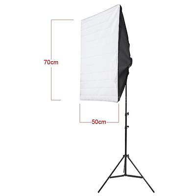 Andoer Photography Studio Portrait Lighting Tent Kit Photo Video Equipment Q0V8