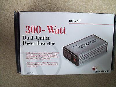 Radio Shack Dual Oulet 300 Watt Power Inverter