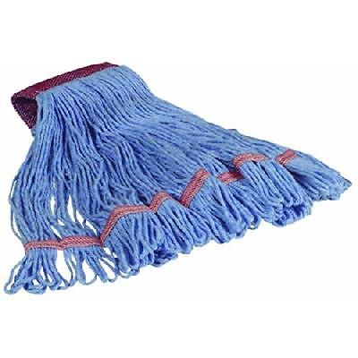 Large Wet Mop Head, Blue Cequent Wet Mops 160301-2 098991007382