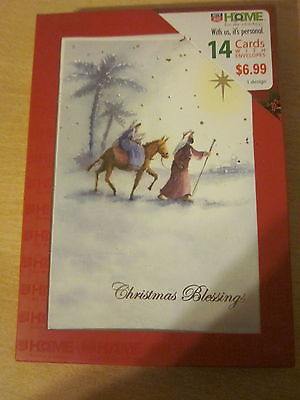 Home For The Holidays Boxed Christmas Cards with Envelopes