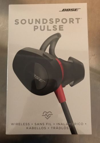 NEW SEALED Bose SoundSport Pulse Wireless Headphones Red