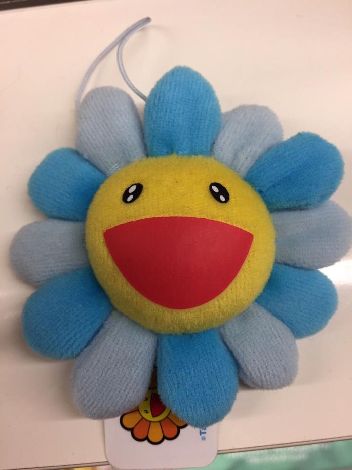 TAKASHI MURAKAMI 'Flower Plush Toy Pin / Badge / Keychain