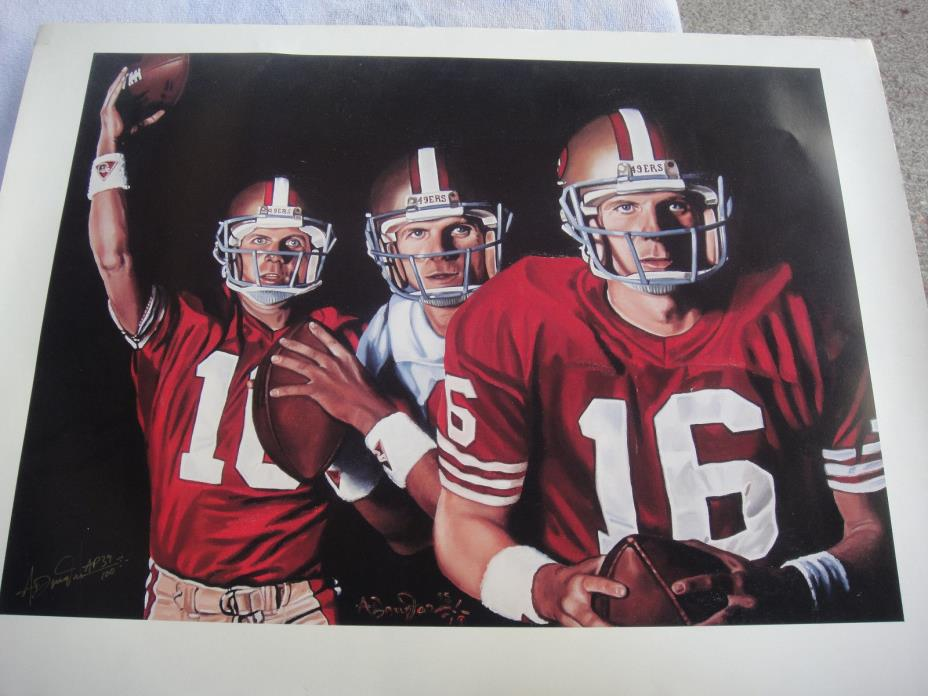 Joe Montana Artist Proof