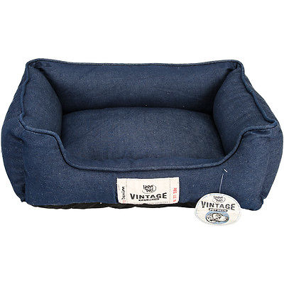 Denim Wash Cuddler Bed 24