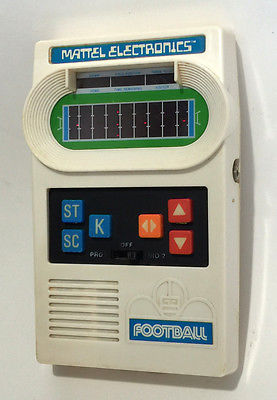 Vintage 1977 MATTEL FOOTBALL Game. Excellent Condition. Tested & Works Great!