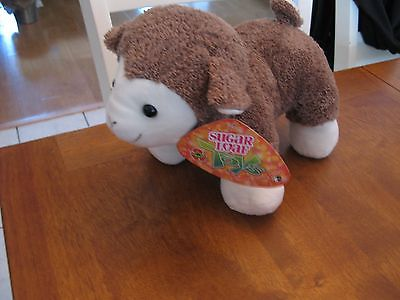 KELLYTOY KELLY TOY   PLUSH sugar loaf tan brown white ivory 10