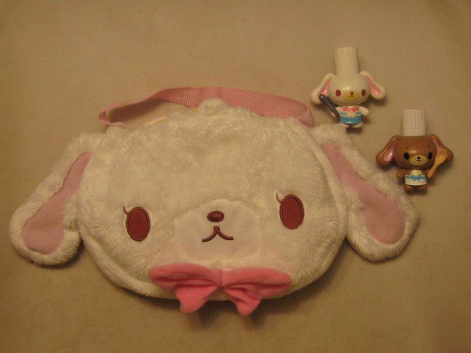 SUGARBUNNIES SHIROUSA & KUROUASA TOY PURSE PLAY SET SANRIO