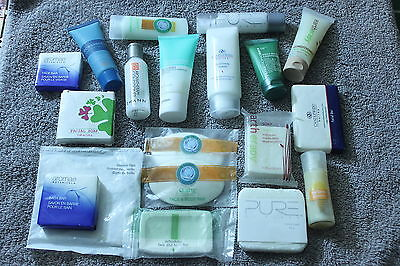 Mixed Lot Hotel Soaps and Toiletry Items Group 1