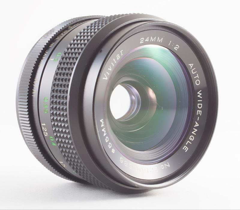 VIVITAR 24mm F/2 MANUAL FOCUS LENS FOR NIKON SLRs FILM AND DIGITAL