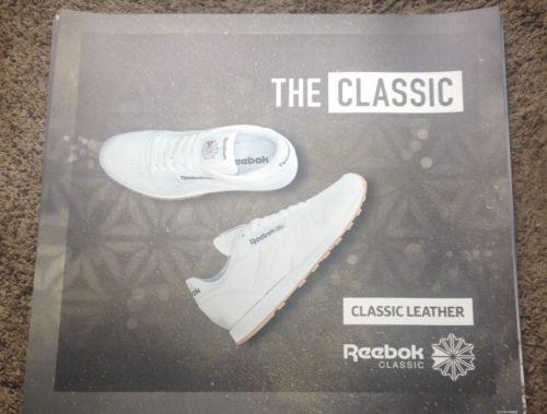 Reebok Classic Classic Leather Gum Sole Magnetic Poster