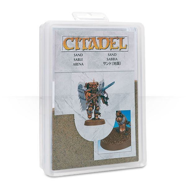 Games Workshop Citadel Sand Basing Material NEW !