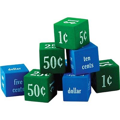 Foam Money Dice