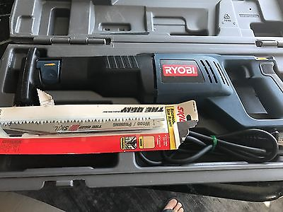 RYOBI RJ162V RECIPROCATING SAW  with HARD CASE