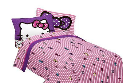 SANRIO Hello Kitty What's Not to Love Microfiber Sheet Set, Full