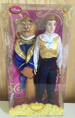 DISNEY'S BEAUTY & THE BEAST THE BEAST CLASSIC DOLL BARBIE 12