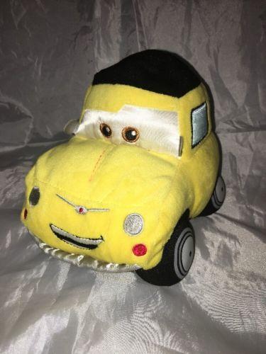 Disney Store Cars Luigi plush