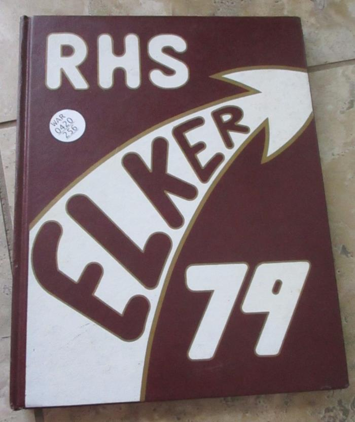 Ridgway High School Ridgway PA Volume LIV Yearbook 1979 ELKER FREE SHIPPING