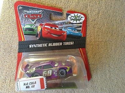 Disney Pixar Cars N2O COLA 68  Synthetic Rubber Tires Kmart days exclusive