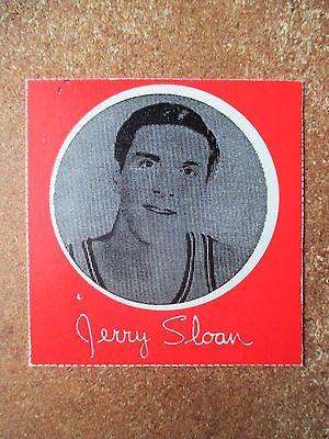 1970/71 Hawthorn Dairy Milk Carton Card Jerry Sloan Chicago Bulls RARE