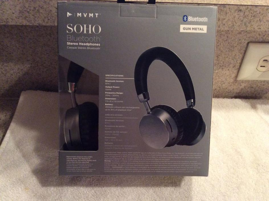 Mvmt Soho Bluetooth Stero Headphones