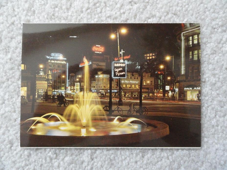 Center of the City, Amsterdam / Holland    Postcard
