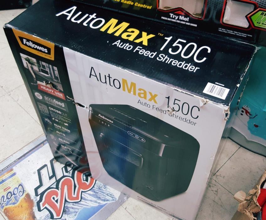 Fellowes Automax 150c Auto-Feed Shredder