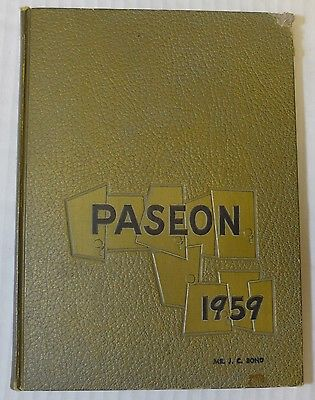 1959 Paseo High School Yearbook