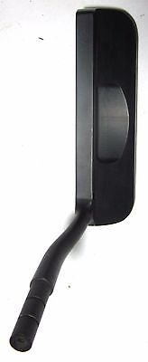 Head Pro 8 Black Milled Putter Head Over the Hosel  Heel-Toe Weighted Blade