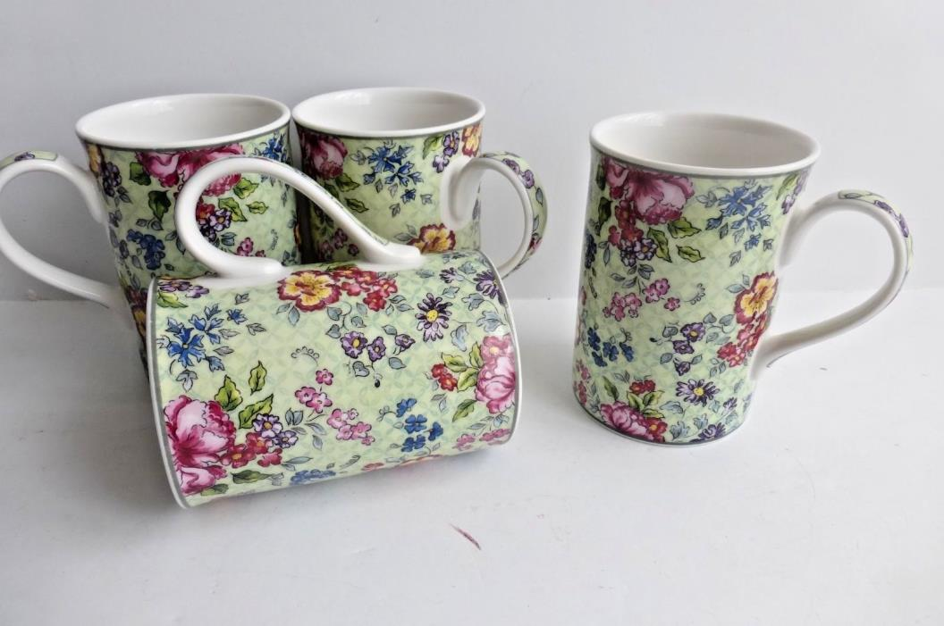 Royal Albert Hartington Afternoon Tea Cups (4)
