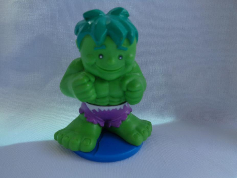 Marvel 2007 Super Hero Hulk 3D Match Up Memory Game Replacement Figure