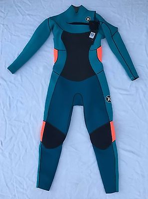 Hurley Women's Phantom 303 Full Wetsuit ($400 MSRP) Emerald GFS0000060 - Size 10